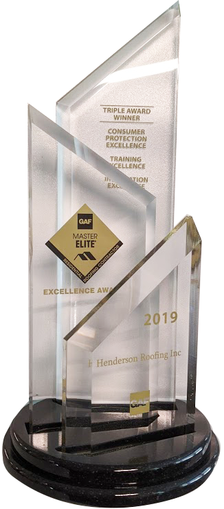 2019 GAF Triple Excellence Award Residential Roofing