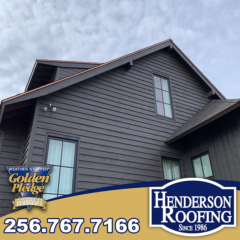 Roofing Contractor North Alabama Henderson Roofing Inc