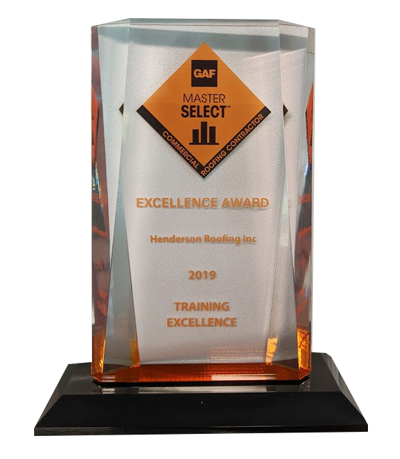 2019 GAF Commercial Roofing Excellence Award