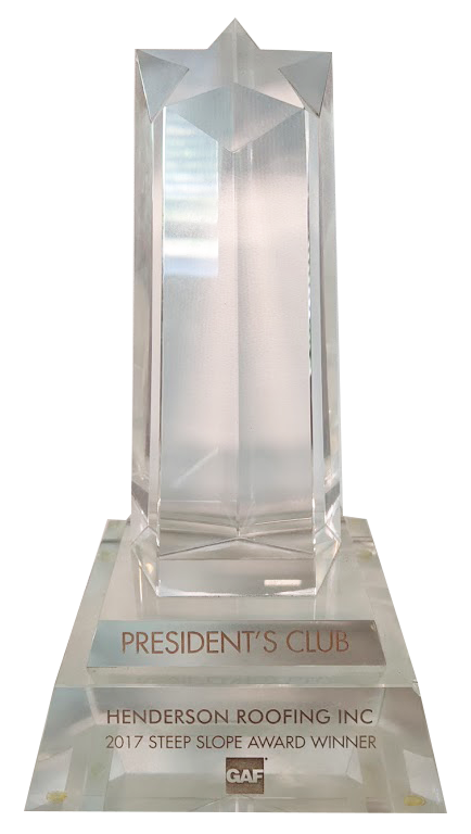 2017 GAF Presidents Club Award