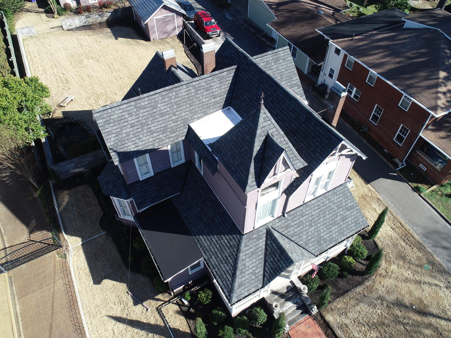 GAF Camelot II with Golden Plege Roofing Warranty in Downtown Florence, Alabama