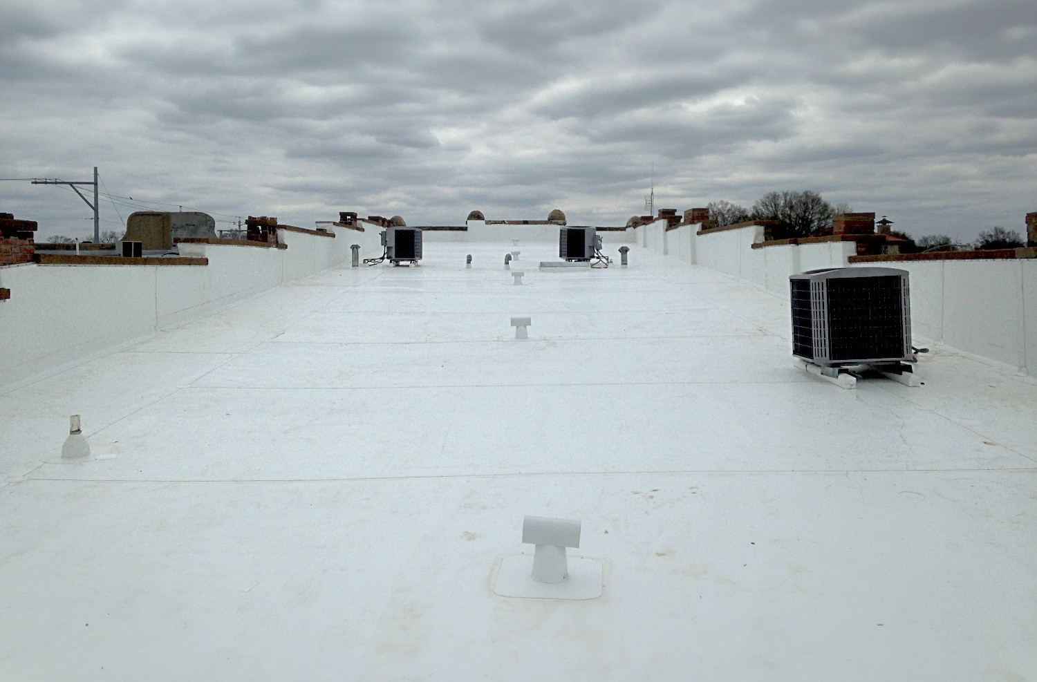Commercial Roofing with GAF TPO Downtown Florence, Alabama