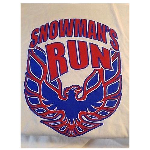 Snowman's Run T Shirt