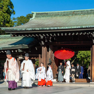 Wedding at Meiji-jingu