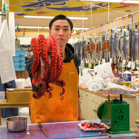 Octopus delicacy for New Year