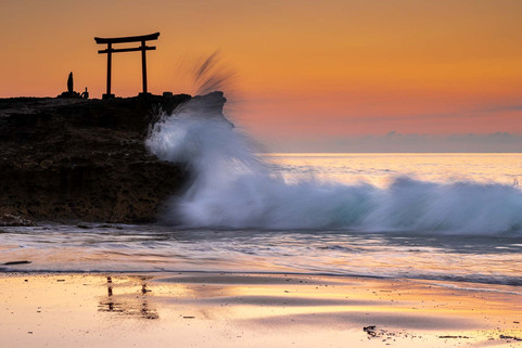 The Dragon and the Torii