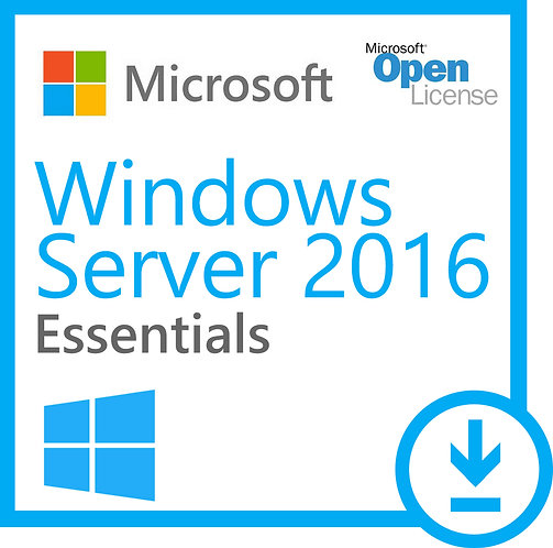 Licença Microsoft Windows Server 2016 Essentials