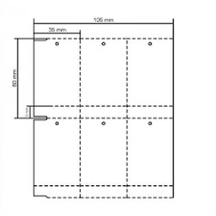 Etiqueta TAG 35x64 Couche (Rolo 2000)