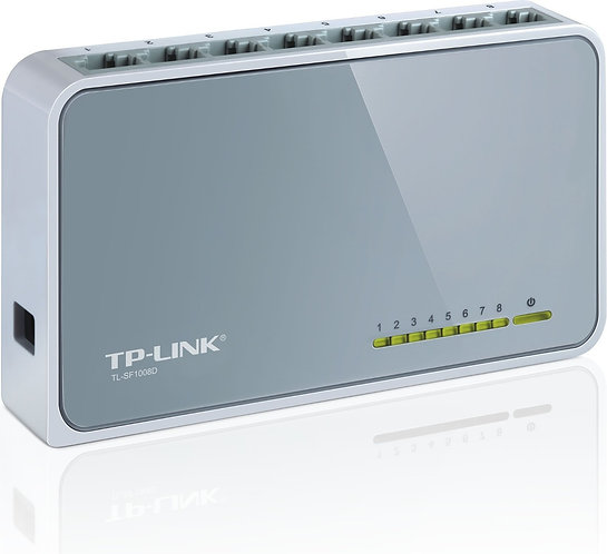 Switch 8 Portas Tp-link Tl-sf1008d 10/100mbps