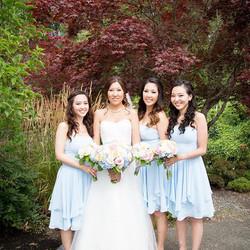 Snohomish Bridal party