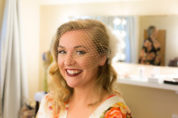 Classic curls for this Seattle bride