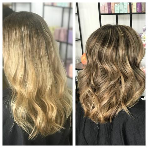 Full foil & Haircut