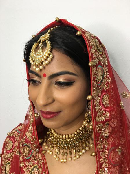 Stunning Bridal Hair & Makeup