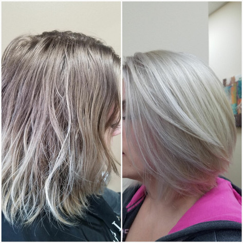 Before and After by Robin at Moda Salon and Spa
