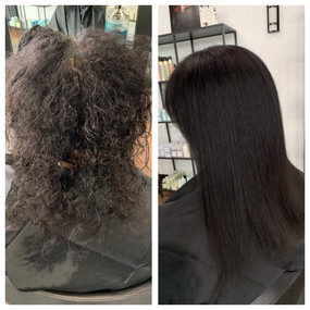 Brazilian Blowout and full color by Megan