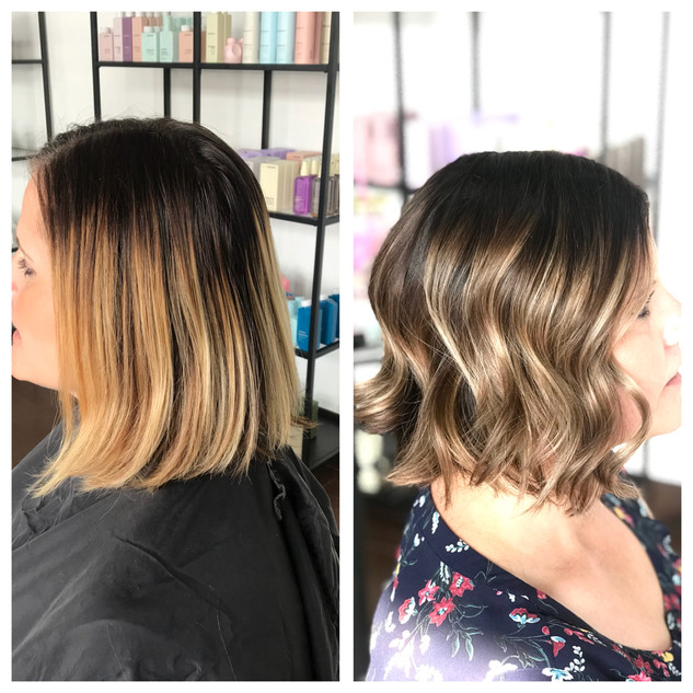 Cool Toned Beige Balayage