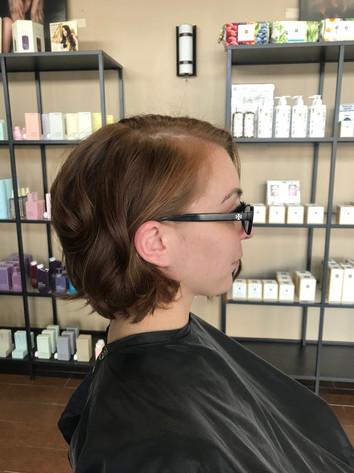 Beautiful, natural haircut