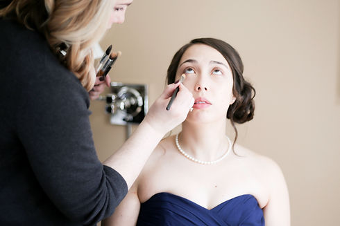 Seattle wedding hair & makeup team, Wedding hair, wedding makeup