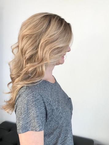 Warm Blonde Balayage