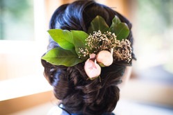 Bridal hair by Lacey Lee