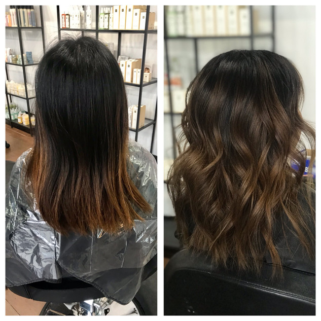 Chocolate Balayage by Lacey