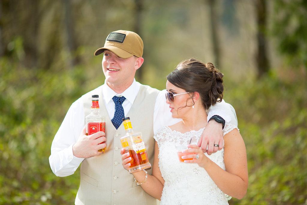 cedar lodge bride and groom