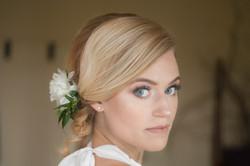 Bright Blue Eyed Bride