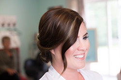 Bridal hair and makeup by Lacey Lee