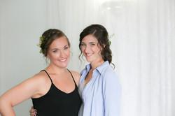 LGBT brides on their wedding day