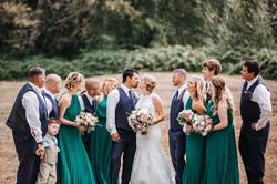 Crystal's wedding was beautiful