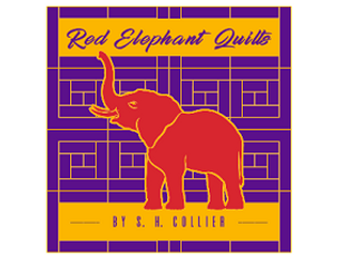 red elephant quilts