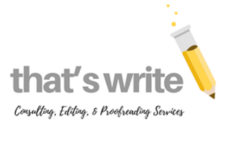 that's write consulting, editing, & proofreading services