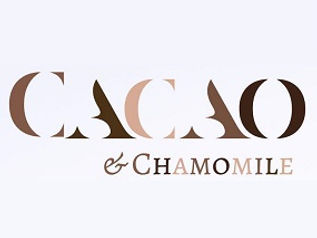 cacao and chamomile skincare