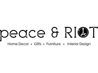 peace + riot