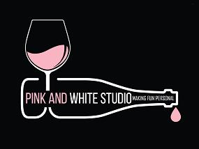 pink and white studio