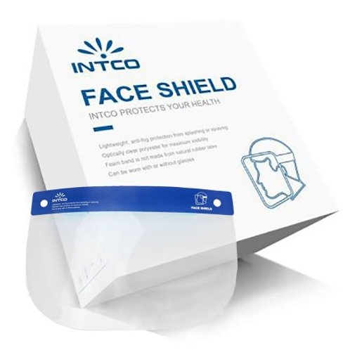 Face Shield One Size Fits Most Full Length Anti-fog