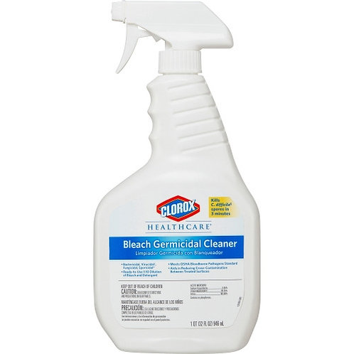 Clorox Healthcare Bleach Germicidal Cleaner Spray
