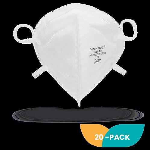NIOSH N95 Foldable Mask