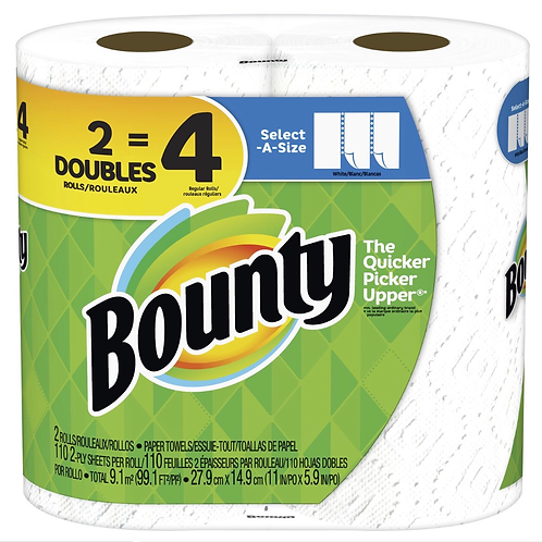Bounty 2-Ply Paper Towels