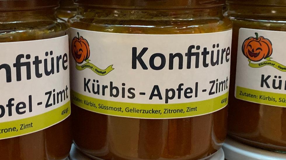 Konfitüre: Kürbis- Apfel- Zimt 450g