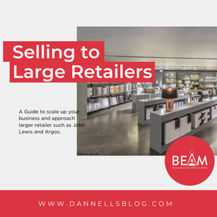 Business Expertise and Advice for Makers - How to sell to large retailers
