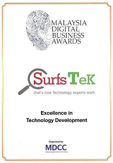 Excellence in Technology Development