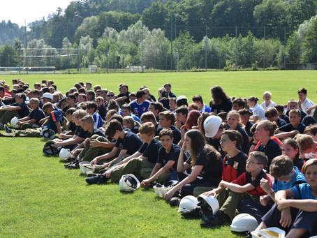 Jugendleistungsbewerb des Bereiches Graz Umgebung in Kainbach bei Graz