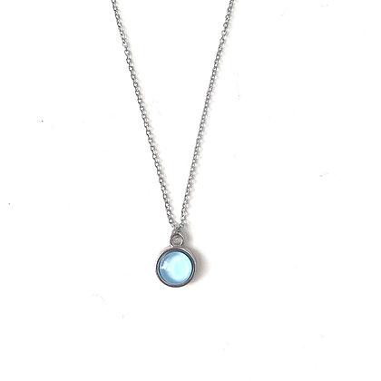 Sky Blue - Silver