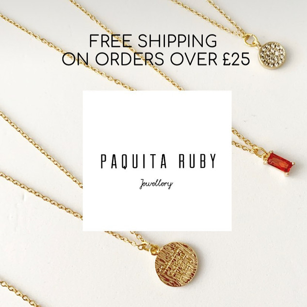 Free Shipping for order over £25