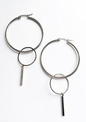 Silver loops