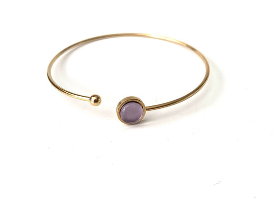 Desert nights -gold bangle