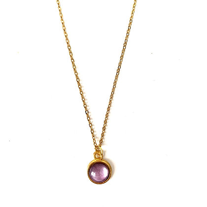 Gold Purple Silk