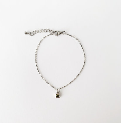 Single Olivine - Bracelet
