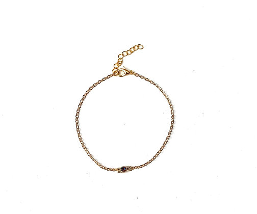 Summer time glow bracelet -Gold